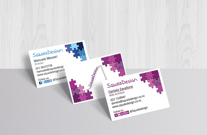Business Card SqualaDesign